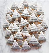 Galletas de árbol de navidad | Elegantes galletas de navidad | Navidad minimalista …   – Backen & Baking