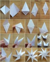 Basteln mit Papier, retuschierte die Weihnachtsatmosphäre