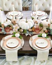 Thanksgiving-Dekor-Ideen für die bevorstehende Ferienzeit