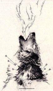Wolf Tattoo für Frauen. Ich liebe diese schöne Kreatur und das …- Wolf Tattoo für … – Womens Tattoo Models