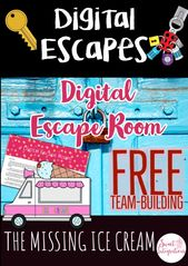 Digital Escape Room: The Missing Ice Cream