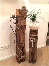 Wooden Christmas Decorating DIY Stunning Wood Ideas