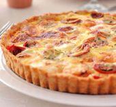 Tarte au thon tomate et moutarde au thermomix