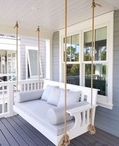 16 Amazing Small Front Porch Ideas to Make Guests Feel Welcome   – dom
