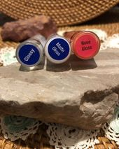 Sealed LipSense gloss tubes: Shiny, Matte, & Rose – #Gloss #Shiny #Lipsense #Ma…