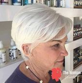 Schicke Kurzhaarschnitte für Frauen über 50