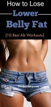 How to Lose Lower Belly Fat-10 Best Ab Workouts – Weight Loss Plan #CleanEatingM…