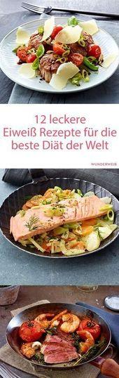 12 Protein-Diät-Rezepte: schnell abnehmen   – Rezepte