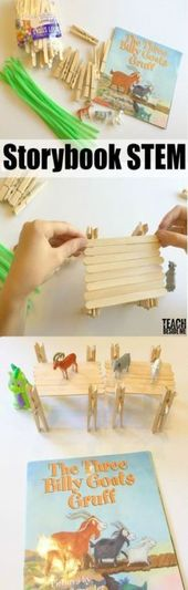 22+ Trendy Ideas For Story Book Art Projects Teachers