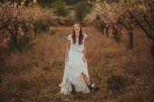 Boho wedding skirt – Beach wedding ivory chiffon skirt – Boho chic bride -Romantic wedding long skirt – Vintage wedding – Bohemian wedding – My Etsy Fellows