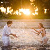 Previo a la boda en la playa: inspírese en Whindersson Nunes y Luísa Sonza Photos   – Fotos