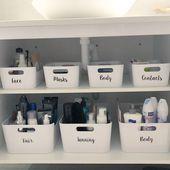 Ordnung Im Bad Bathroom Organisation Bathroom Organization Diy