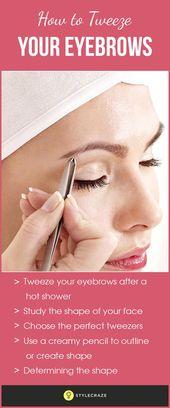 Ein Paar gepflegter und geformter Augenbrauen macht den Unterschied zu Ihrem Look …   – Skin Care Remedies Beauty Secrets