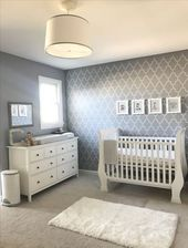 Trendy Baby Nursery Ideas Neutral Weiß Grau Ideen   – Nursery | Nursery room | Nursery decor | Baby Room | Nursery Room Furniture