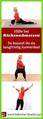 Rückenschmerzen: Ursache und Übungen