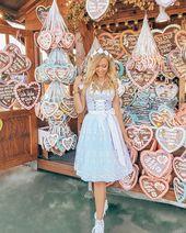 Like a Princess!  @biancafiala_ im #Dirndl Alice   #repost  Einfach den #dressed…