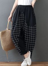 Damen Haremshose – Schwarz / M.   – Products