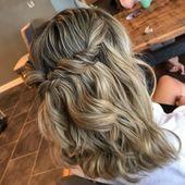39 Neu Frisur Halboffen – Frisuren Damen – #Damen #Frisur #frisuren #halboffen #… – Haar – #Damen