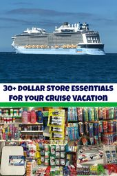 30+ Dollar Store Essentials for Your Cruise Vacation