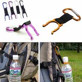 Camping Hiking Traveling Water Bottle Carabiner Buckle – GhillieSuitShop