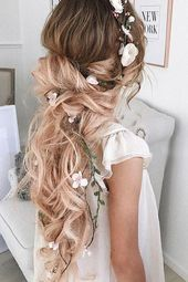 30 WEDDING HAIRSTYLES FOR LONG HAIR BY ULYANA ASTER – Hairstyle Ideas 30 WEDDING HAIRSTYLES FOR LONG HAIR BY ULYANA ASTER #Aster #Haar # …