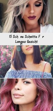 15 beautiful cuts for a long face