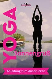 Yoga Sun Salutation – a guide (for printing) for yoga beginners
