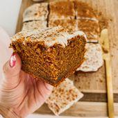 FALLEN. ALLES. Machen Sie diesen Kürbis-Gewürz-Kuchen mit Frischkäse, der SO SCHNELL WIE MÖGLICH zubereitet. …