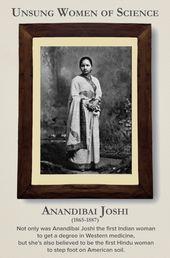 Frauen zurück in die Wissenschaftsgeschichte schreiben – Anandibai Joshi