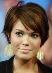 20 kurze Frisurideen für runde Gesichter: Schicke Frisuren, die man probieren muss – Frisuren…