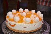 Pfirsich – Raffaello – Torte 1
