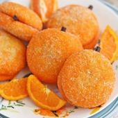 Clementine Cookies | From SugarHero.com – cookies