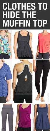 Fitness Clothing To Disguise Your Muffin Top