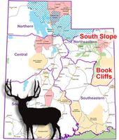 Utah Deer Hunting The Northeastern Region Mule Deer Hunting Deer Hunting Mule Deer