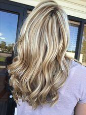 51 Ideen für blonde und braune Haarfarben im Sommer 2019