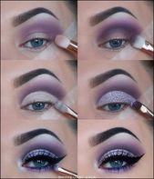 134+ Tipps leicht Augen Make-up für Frauen 2019 – Seite 35 #augen #frauen #lei