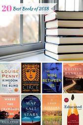 Les 20 meilleurs livres de 2018   – Adult Book List