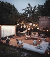 Youtube Outdoor Movie Screen Diy Outdoor Movie Screen Backyard Movie Screen