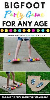 Schlagen Sie die Socken und beginnen Sie mit dem lustigsten Fuß … – Kinderkram –  Anleitungen, Basteln, Spielen