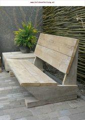 Garden bench Meroy Merlin light wood cheap garden furniture # cheap # garden bench …