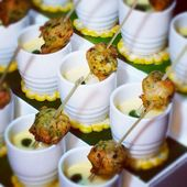27 Wedding Hors d'Oeuvres to Rock Cocktail Hour