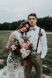 Rustic Fall Wedding Inspiration at The Farmstead in North Carolina