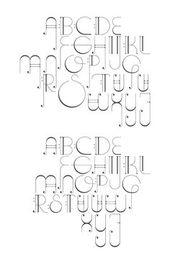 Octave, eine Schriftart, die Noten als Stil verwendet. Dies wird eine wunderschöne Arbeit von ar …