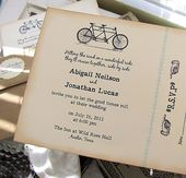 Rustic wedding invitations design 20   – Mrs Fisher to be!