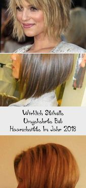Really Stylish Reverse Bob Haircuts in 2018 – Madame Hairstyles | Madame Hairstyles #Light Hairstyles #BoxerBraidsHairstyles #HairstylesLevel …