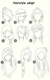 How To Draw Hair (Step By Step Image Guides)   – jokes