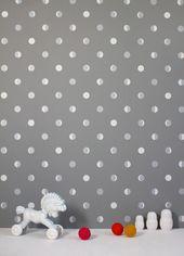 papier peint design et potique pour une chambre denfant - Papier Peint Fille