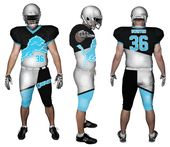 Sublimated Football Jersey and Sublimated Football Pants ... 9d7469f75