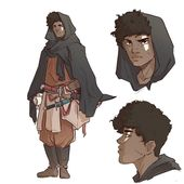 Photo of male / human fighter / adventurer  DnD / PAthfinder characte…