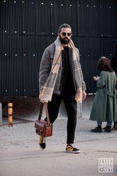 Der beste Street Style von Pitti Uomo A / W 2019 – Mens Fashion Trendy